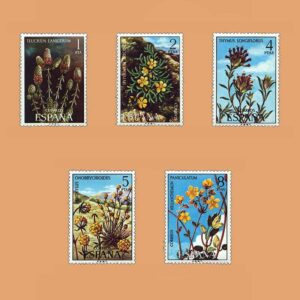 Edifil 2220/4. Serie Flora. **1974