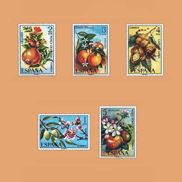 Edifil 2254/8. Serie Flora. **1975