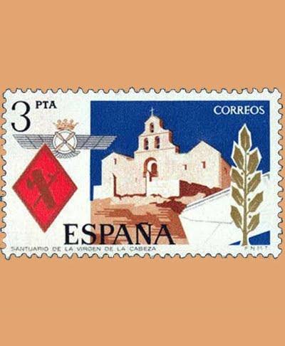 Edifil 2265. Santa Maria de la Cabeza. Sello 3 pts. **1975