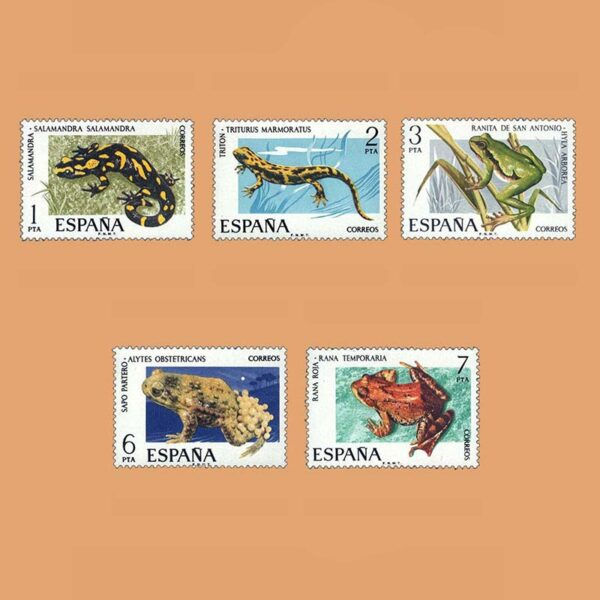 Edifil 2272/6. Serie Fauna Hispánica. **1975