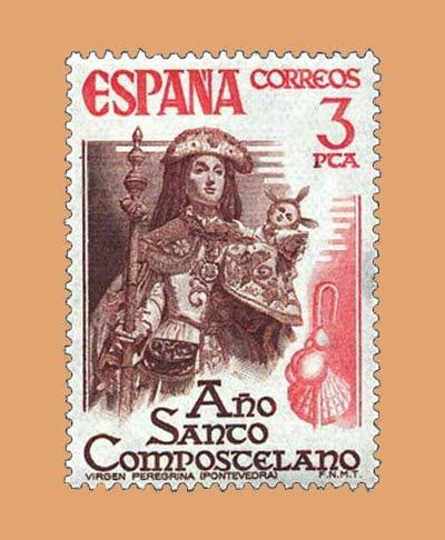 Edifil 2306. Año Santo Compostelano. Sello 3 pts. **1976