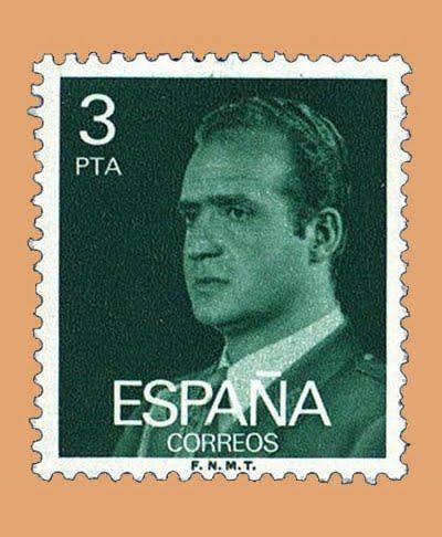 Edifil 2346. Juan Carlos I. Sello 3 pts. **1976
