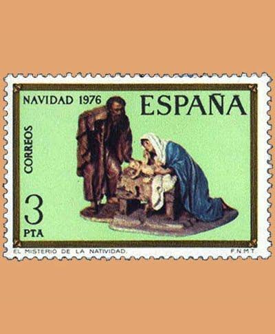 Edifil 2368. Misterios de Castells. Sello 3 pts. **1976