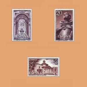 Edifil 2375/7. Serie San Pedro de Alcántara. **1976