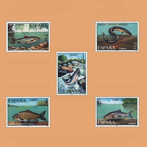 Edifil 2403/7. Serie Fauna Hispánica. **1977