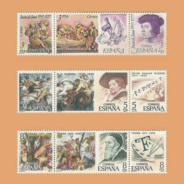 Edifil 2460/8. Serie Centenarios. **1978