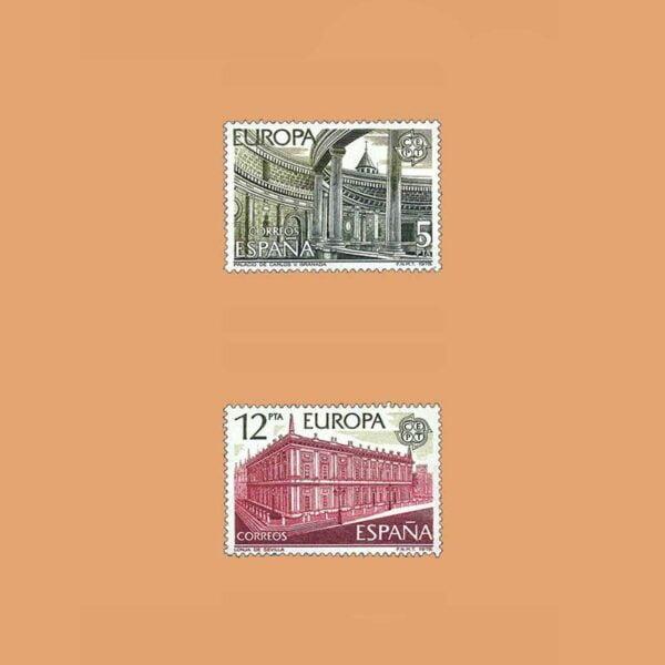 Edifil 2474/5. Serie Europa-CEPT. **1978