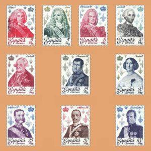 Edifil 2496/505. Serie Casa de Borbón. **1978