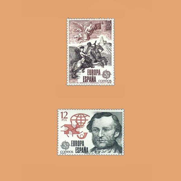 Edifil 2520/1. Serie Europa-CEPT. **1979